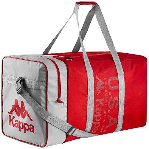 Kappa Auth La84 Duffle Sporttasche, Geschlechterfrei, Rot, XL
