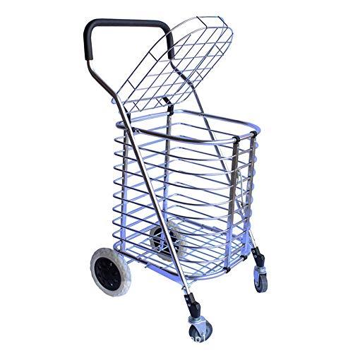 GLJY Superleichter Einkaufswagen, 30 Lb. Kapazität, 21,25