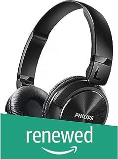 (Renewed) Philips SHL3060BK/00 On-Ear DJ Style Monitoring Headphones (Black)