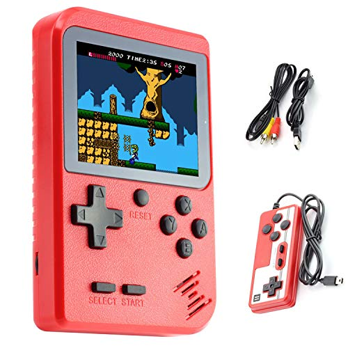 Handheld Game Console, Dhaose Retro Mini Game Player with 500 Classical FC...