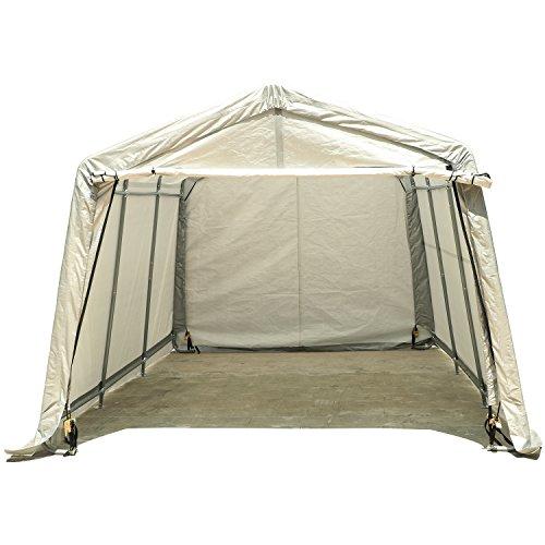 WALCUT Portable Carport Portable Garage Storage Outdoor Shed 10