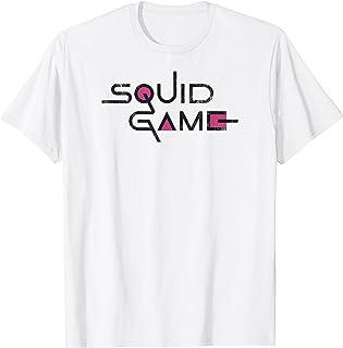 Squid Game English Title Logo V-2 T-Shirt