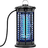 Bug Zapper Outdoor and Indoor, Ilana Ivan Electric Mosquito Zapper Fly Trap , UV Light Insect Killer for Backyard, Patio, Garden, Home