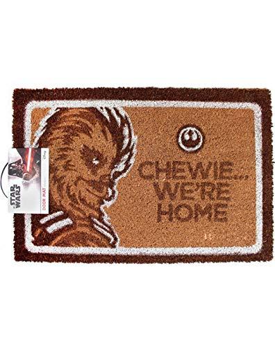Star Wars Chewie. Estamos en casa Felpudo   Mercancía Oficial