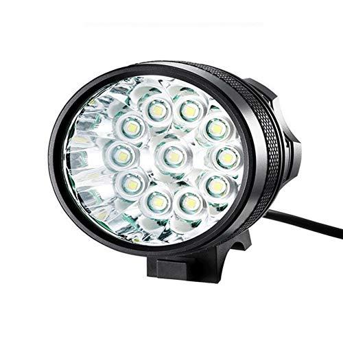 CMMIN Fietslamp, superheldere led-fietsverlichting voor je fiets, eenvoudig te monteren koplamp en achterlicht met snelontgrendelingssysteem, beste verlichting voor voor en achter, S