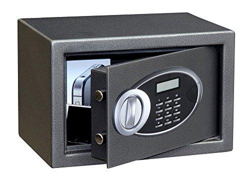 Phoenix Safe Company 'Rhea, cassaforte con Serratura Elettronica, Misura 1, Metallo, Nero