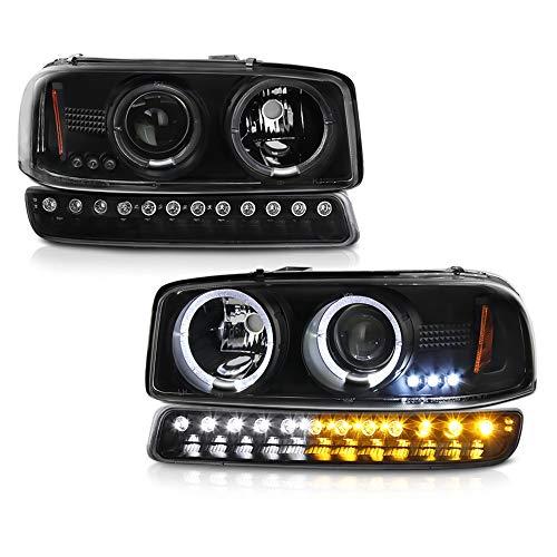 02 gmc sierra headlight assembly - 5