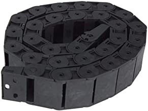 YASE-king Plastic 18mm x 37mm Openable Cable Drag Chain 1M Long Wire Carrier Drag Chain Linear Motion Products