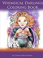Whimsical Darlings Coloring Book