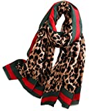 FM Womens Mulberry Silk Scarves Long Satin Lightweight Scarf For Women, Medium