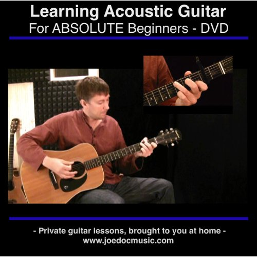 Learn To Play Acoustic Guitar - For Absolute Beginners - Best DVD Learning Method Georgia