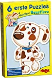 Haba-3902 6 Primeros Puzzles – Animales doméstico Puzle Infantil, Multicolor (3902)