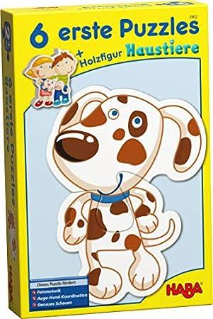 Haba - 6 Erste Puzzles, Haustiere