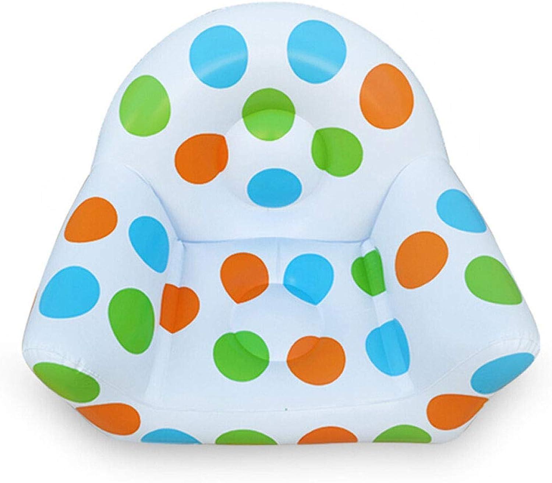 Giow Aufblasbarer Sofa-Kinderkombinationssitz-Kaffeetisch-aufblasbarer Schemel dreiteilig + Luftpumpe