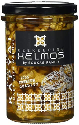 Helmos Griechischer Honig mit Walnüssen, 370 g