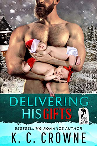 "alt=""Now an Amazon Top 13 Bestseller! Bestseller in Action and Adventure Romance Bestseller in Classic Romance Fiction  ""What do you mean my babies are coming out early?!?""  How did I get myself into this mess?  1. A wicked snowstorm. 2. Stranded in the middle of the mountains. 3. Twin babies that want out NOW. 4. Absolutely NO doctor in sight. FML!!  Dear Santa, This is NOT what I meant when I prayed for a memorable Christmas!!     This is a fully standalone romance from the bestselling Mountain Men of Liberty Series. This is Eli's story and a mountain man's babies, Christmas/holiday romantic suspense. Each book can be read on its own. Transport yourself into the charming and magical town of Liberty, Utah as we follow several rugged mountain men in their quests to find lasting love. For readers looking to binge-read books 1-4 of this series at a discounted rate, it is available as a boxset on my Amazon catalog titled Mountain Men of Liberty Boxset. Enjoy!"""