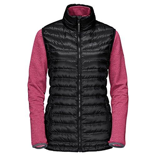 Jack Wolfskin Damen tongari Vista Coat, Damen, 1203261, Schwarz, xs