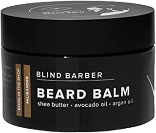 Blind Barber Bryce Harper Beard Balm - Moisturize, Fight Flakes and Flyaways with Shea Butter, Avocado Oil & Essential Oils, Water Based Beard Balm (1.5oz / 45g)