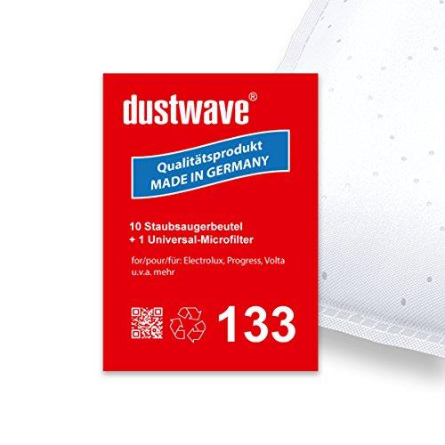 Pack de ahorro–10bolsas para aspiradoras Tornado–to 1615/to1615–Aspiradora–dustwave® Premium Calidad–Fabricado en Alemania