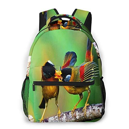 Laptop Rucksack Schulrucksack Vogel Ea, 14 Zoll Reise Daypack Wasserdicht für Arbeit Business Schule Männer Frauen