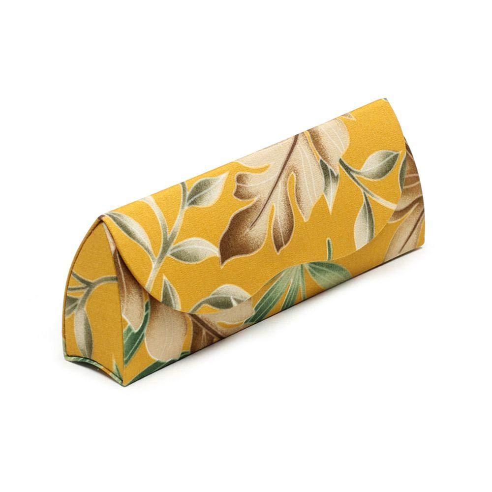 QLSGFBDIM Estuche Lápiz Estuche Gafas Estuche Gafas hembra personalidad creativa estudiante triángulo portátil anti-presión miopía caja de ojos macho @ amarillo: Amazon.es: Oficina y papelería