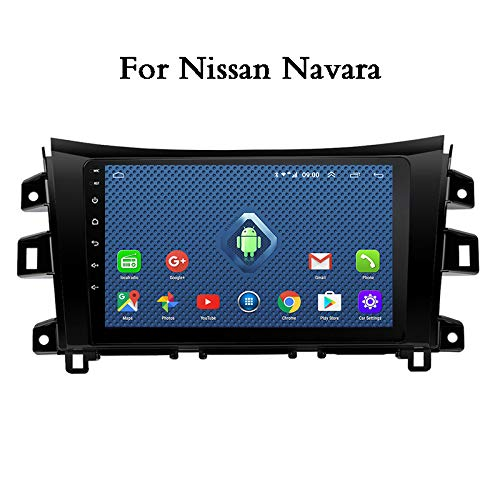 Android Car Stereo 9 Pulgadas Full Touch Car Multimedia System para Nissan Navara GPS Navigation Quad Core Support FM Radio Receiver/WiFi/USB Input/SWC/Mirror Link/Rear View Camera