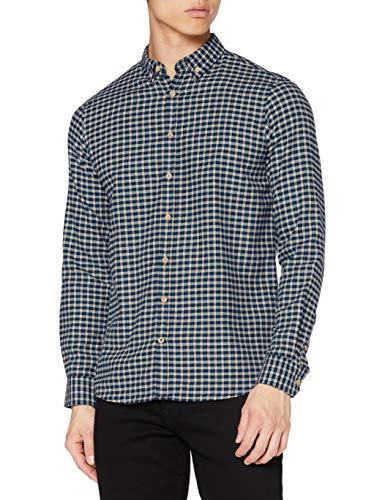 KRONSTADT Mens L/S Shirt, Green, Large