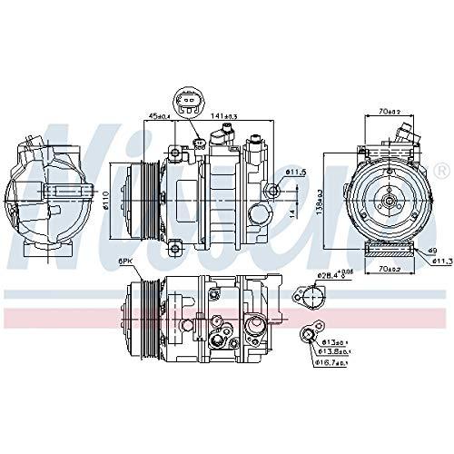 Nissens 89039 Sistemas de Aire Acondicionado