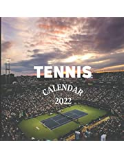 Tennis Calendar 2022: Tennis Mom or Dad Gift Idea | January 2022 - December 2022 Square Photo Calendar Present For Tennis Lovers | Monthly Planner With UK Holidays