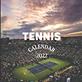 Tennis Calendar 2022: Tennis Mom or Dad Gift Idea   January 2022 - December 2022 Square Photo Calendar Present For Tennis Lovers   Monthly Planner With CA Canadian Holidays