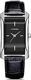 SINOBI Square Women Watch Business Wristwatch Casual Lady Designer Simple Rectangular Women Watches S8179L