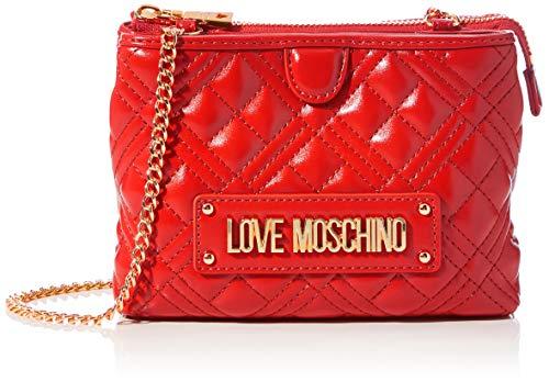 Love Moschino JC4209PP0BKA0, Bandolera para Mujer, rojo, Normale