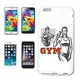 Reifen-Markt Etui pour téléphone Portable Compatible pour iPhone 7 Musculation Gym Fitness Musculation Bodybuilding Gym Gym Muskelaufbau Supplements Weightlifting