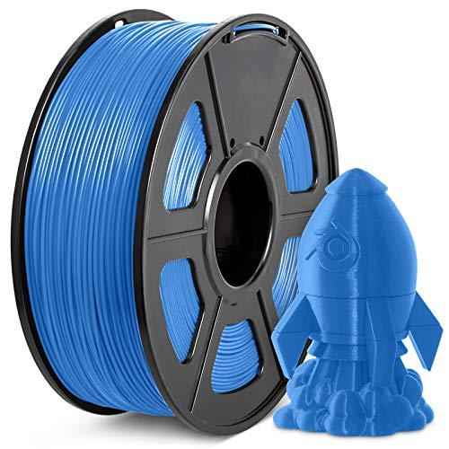 Filamento PLA+ 1.75mm, JAYO PLA Plus Filamento de Impresora 3D, tolerancia de diámetro +/- 0,02 mm, 1kg Spool, PLA+ Azul