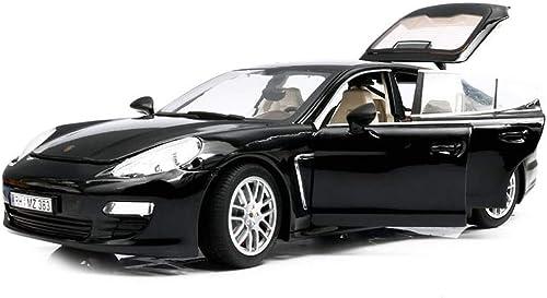 alto descuento AGWa Modello in scala veicolo di simulazione simulazione simulazione 1 18 modello di auto in lega collezione di simulazione auto bambini 's auto giocattolo ragazzo negro rojo opzionale  ventas calientes