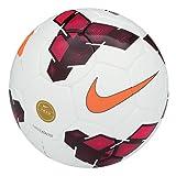 Nike Team Catalyst Ballon Mixte Adulte, Blanc/Rouge/Total Orange, Taille 5