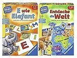 Ravensburger 24951 - Juego de aprendizaje (E wie Elefant + 24990, a partir de 5 años)