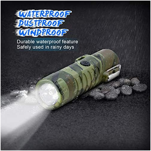 Electric Lighter USB Rechargeable, TRELC Waterproof Lighter with Flashlight Plasma Lighter, Windproof Arc Lighter… 4