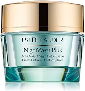 Estee Lauder Women's Nightwear Plus Anti-Oxidant Night Detox Creme, All Skin Types, 1.7 Ounce