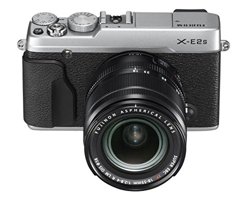 Fujifilm X-E2S Mirrorless Camera w/XF18-55 Lens Kit (Silver)