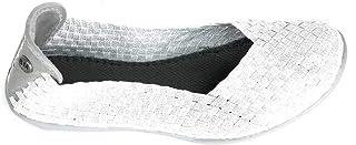 حذاء Bernie Mev للسيدات، سهل الارتداء، أبيض اللون، مقاس 39 M