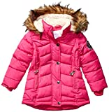 Weatherproof Girls' Toddler Fashion Outerwear Jacket (More Styles Available), Long Puffer Fuchsia, 4T