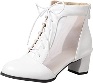 46da65ca623ca Amazon.com: UP TOP - White / Ankle & Bootie / Boots: Clothing, Shoes ...