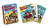 Schylling Sock Monkey Cards in TIN Box [Toy]