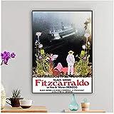 Shmjql Fitzcarraldo Werner Herzog Vintage Poster Wandkunst