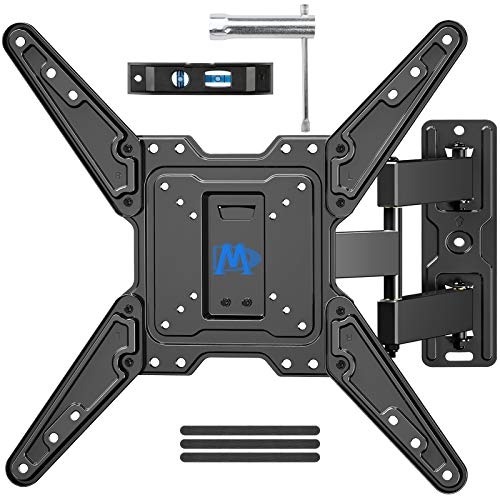 Mounting Dream Full Motion TV Wall Mount for Most 26-55 Inch TVs, Wall Mount for TV with Swivel Articulating Arms, Perfect Center Design TV Mounts Wall, up to VESA 400x400mm and 77 lbs. MD2413-MX. Buy it now for 29.99