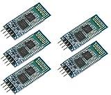 TECNOIOT 5pcs HC-06 HC06 Wireless Bluetooth Module with Slave Base