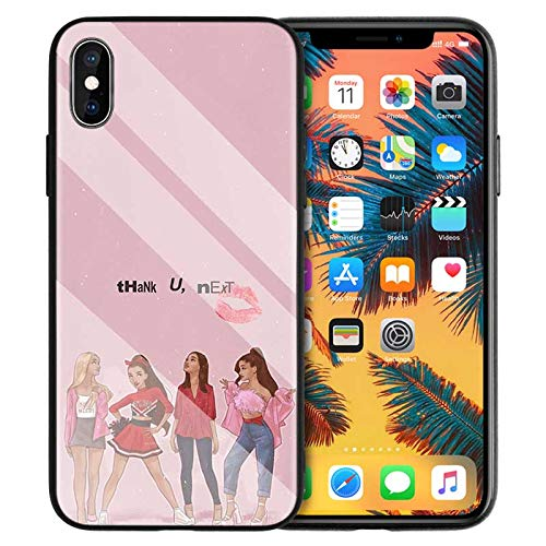 DoDoe Vetro Temperato Hard Case per Cover iPhone Math Einstein KE Formula E=Mc2 Calculus Print Case Z0XF5G per Cover iPhone 11 Case
