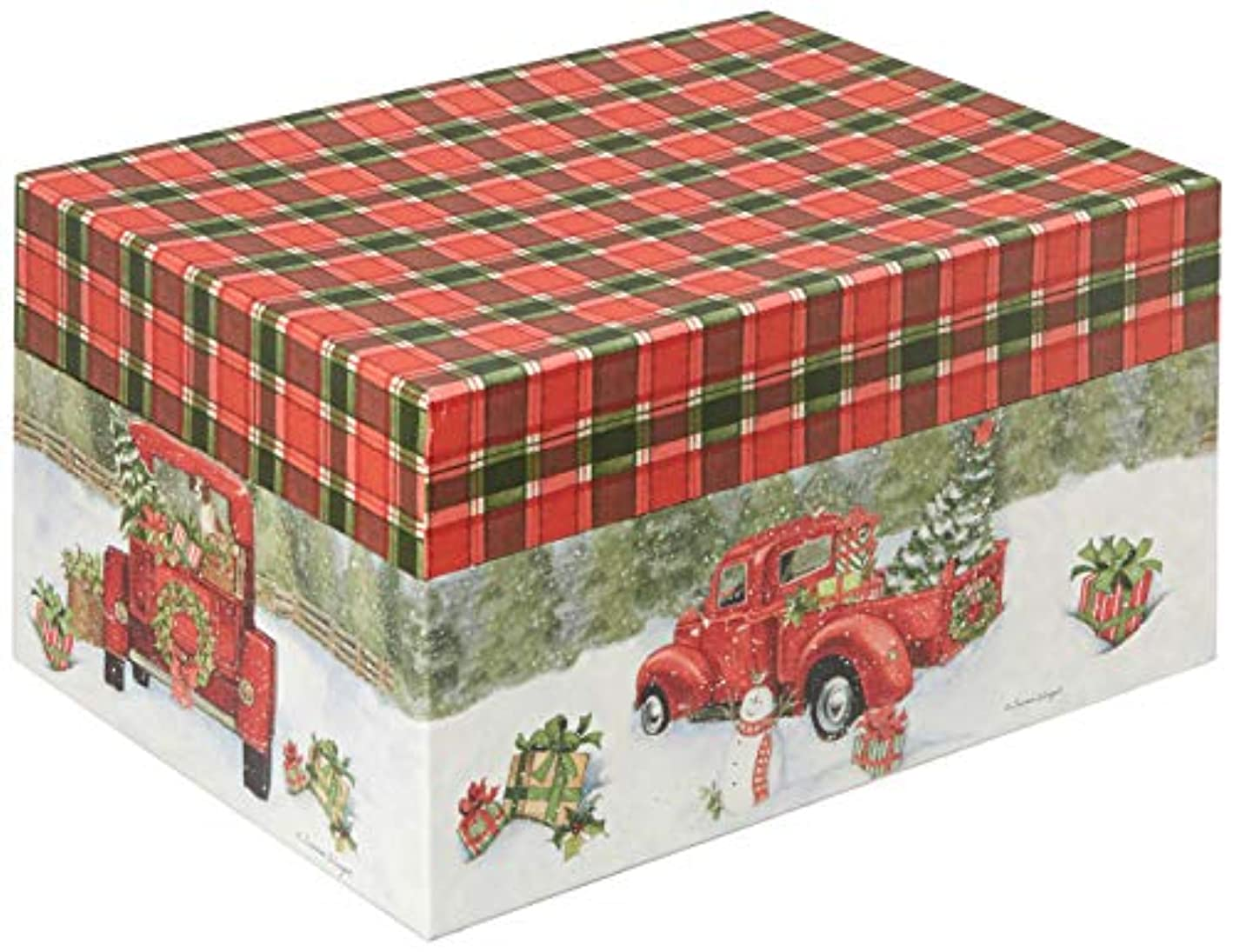 Lang Santa's Truck Ornament Box (4022023)