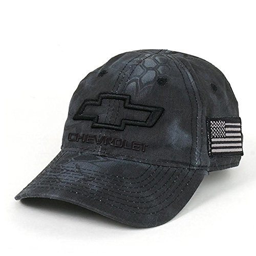 b596bb92 Amazon.com: Chevrolet 3D Bowtie Tactical Camo Cap with USA Embroidered Flag  Hat (Black): Automotive